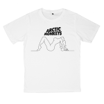 Arctic Monkeys rock band t shirts white tees cotton 100 S M L XL XXL [1]