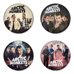 Arctic Monkeys button badge 1.75 inch custom backside 4 type Pinback, Magnet, Mirror or Keychain. Get 4 in package [9]