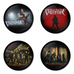Bullet for my Valentine button badge 1.75 inch custom backside 4 type Pinback, Magnet, Mirror or Keychain. Get 4 in package [10]