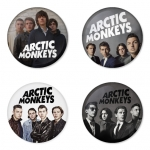 Arctic Monkeys button badge 1.75 inch custom backside 4 type Pinback, Magnet, Mirror or Keychain. Get 4 in package [16]