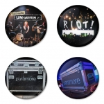 Paramore button badge 1.75 inch custom backside 4 type Pinback, Magnet, Mirror or Keychain. Get 4 in package [2]