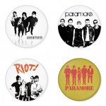 Paramore button badge 1.75 inch custom backside 4 type Pinback, Magnet, Mirror or Keychain. Get 4 in package [9]