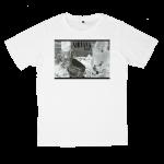 เสื้อยืด วง Nirvana สีขาว แขนสั้น S M L XL XXL [1]