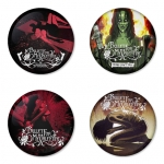 Bullet for my Valentine button badge 1.75 inch custom backside 4 type Pinback, Magnet, Mirror or Keychain. Get 4 in package [8]