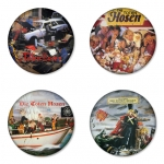 Die Toten Hosen button badge 1.75 inch custom backside 4 type Pinback, Magnet, Mirror or Keychain. Get 4 in package [1]
