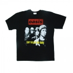 Oasis rock band t shirts Vintage styles screen S-2XL [Easyriders]