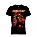 เสื้อยืด วง Disturbed แขนสั้น แขนยาว S M L XL XXL [4]
