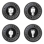 Ramones button badge 1.75 inch custom backside 4 type Pinback, Magnet, Mirror or Keychain. Get 4 in package [5]