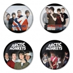 Arctic Monkeys button badge 1.75 inch custom backside 4 type Pinback, Magnet, Mirror or Keychain. Get 4 in package [13]