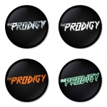 The Prodigy button badge 1.75 inch custom backside 4 type Pinback, Magnet, Mirror or Keychain. Get 4 in package [3]