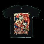 Iron Maiden rock band t shirts cotton100% S-2XL [NTS]