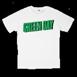 Greenday rock band t shirts white tees cotton 100 S M L XL XXL [1]