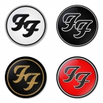 Foo Fighters button badge 1.75 inch custom backside 4 type Pinback, Magnet, Mirror or Keychain. Get 4 in package [6]