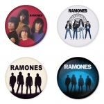Ramones button badge 1.75 inch custom backside 4 type Pinback, Magnet, Mirror or Keychain. Get 4 in package [9]
