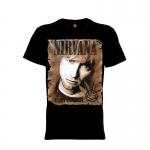 เสื้อยืด วง Nirvana แขนสั้น แขนยาว S M L XL XXL [6]