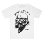 Black Sabbath rock band t shirts white tees cotton 100 S M L XL XXL [1]