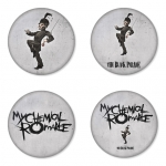My Chemical Romance button badge 1.75 inch custom backside 4 type Pinback, Magnet, Mirror or Keychain. Get 4 in package [5]