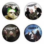 The Prodigy button badge 1.75 inch custom backside 4 type Pinback, Magnet, Mirror or Keychain. Get 4 in package [4]