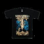 Sepultura rock band t shirts cotton100% S-2XL [NTS]