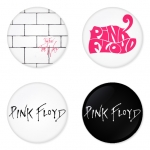 Pink Floyd button badge 1.75 inch custom backside 4 type Pinback, Magnet, Mirror or Keychain. Get 4 in package [9]