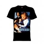 เสื้อยืด วง Nirvana แขนสั้น แขนยาว S M L XL XXL [1]