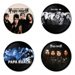 Papa Roach button badge 1.75 inch custom backside 4 type Pinback, Magnet, Mirror or Keychain. Get 4 in package [3]