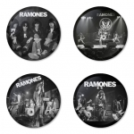 Ramones button badge 1.75 inch custom backside 4 type Pinback, Magnet, Mirror or Keychain. Get 4 in package [14]