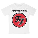 Foo Fighters rock band t shirts white tees cotton 100 S M L XL XXL [2]