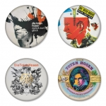 Die Toten Hosen button badge 1.75 inch custom backside 4 type Pinback, Magnet, Mirror or Keychain. Get 4 in package [3]