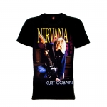 เสื้อยืด วง Nirvana แขนสั้น แขนยาว S M L XL XXL [3]