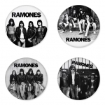 Ramones button badge 1.75 inch custom backside 4 type Pinback, Magnet, Mirror or Keychain. Get 4 in package [13]