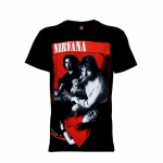 เสื้อยืด วง Nirvana แขนสั้น แขนยาว S M L XL XXL [7]