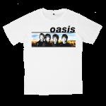 เสื้อยืด วง Oasis สีขาว แขนสั้น S M L XL XXL [4]