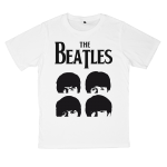 The Beatles rock band t shirts white tees cotton 100 S M L XL XXL [2]