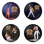 Queen button badge 1.75 inch custom backside 4 type Pinback, Magnet, Mirror or Keychain. Get 4 in package [6]