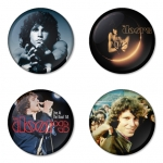 The Doors button badge 1.75 inch custom backside 4 type Pinback, Magnet, Mirror or Keychain. Get 4 in package [3]