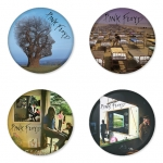 Pink Floyd button badge 1.75 inch custom backside 4 type Pinback, Magnet, Mirror or Keychain. Get 4 in package [2]