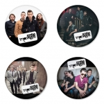 Arctic Monkeys button badge 1.75 inch custom backside 4 type Pinback, Magnet, Mirror or Keychain. Get 4 in package [8]