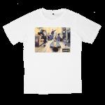 เสื้อยืด วง Oasis สีขาว แขนสั้น S M L XL XXL [6]