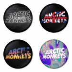Arctic Monkeys button badge 1.75 inch custom backside 4 type Pinback, Magnet, Mirror or Keychain. Get 4 in package [15]