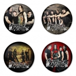 Bullet for my Valentine button badge 1.75 inch custom backside 4 type Pinback, Magnet, Mirror or Keychain. Get 4 in package [7]