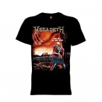 เสื้อยืด วง Megadeth แขนสั้น แขนยาว S M L XL XXL [3]