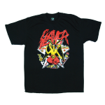 Slayer rock band t shirts Vintage styles screen S-2XL [Easyriders]