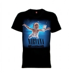 เสื้อยืด วง Nirvana แขนสั้น แขนยาว S M L XL XXL [12]