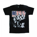 KISS rock band t shirts Vintage styles screen S-2XL [Easyriders]