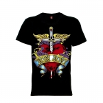 เสื้อยืด วง Bon Jovi แขนสั้น แขนยาว S M L XL XXL [3]