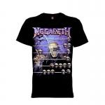 เสื้อยืด วง Megadeth แขนสั้น แขนยาว S M L XL XXL [6]