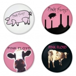 Pink Floyd button badge 1.75 inch custom backside 4 type Pinback, Magnet, Mirror or Keychain. Get 4 in package [8]