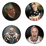 The Prodigy button badge 1.75 inch custom backside 4 type Pinback, Magnet, Mirror or Keychain. Get 4 in package [5]
