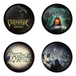 Bullet for my Valentine button badge 1.75 inch custom backside 4 type Pinback, Magnet, Mirror or Keychain. Get 4 in package [11]